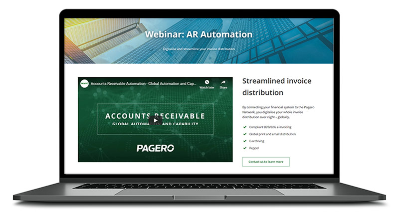 Watch our webinar about AR Automation