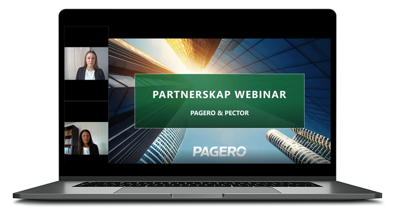 Watch our webinar - Partner with Pagero